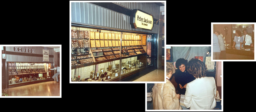 A montage of images showing the first Peter Jackson store in Preston