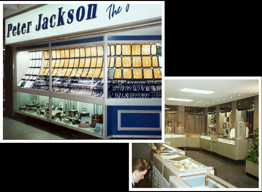 A montage of images showing the second Peter Jackson store in Blackburn