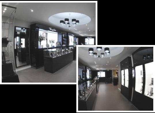 Thomas Sabo Boutique interior
